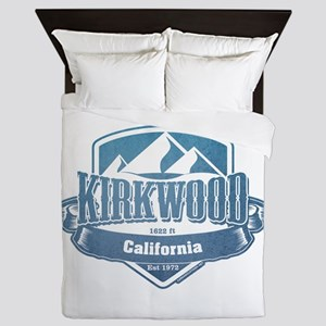Kirkwood California Ski Resort 1 Queen Duvet